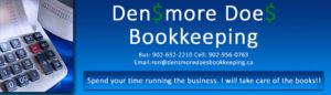 Densmore Does Bookkeeping
