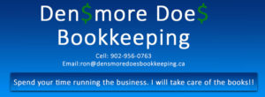 Densmore Does Bookkeeping